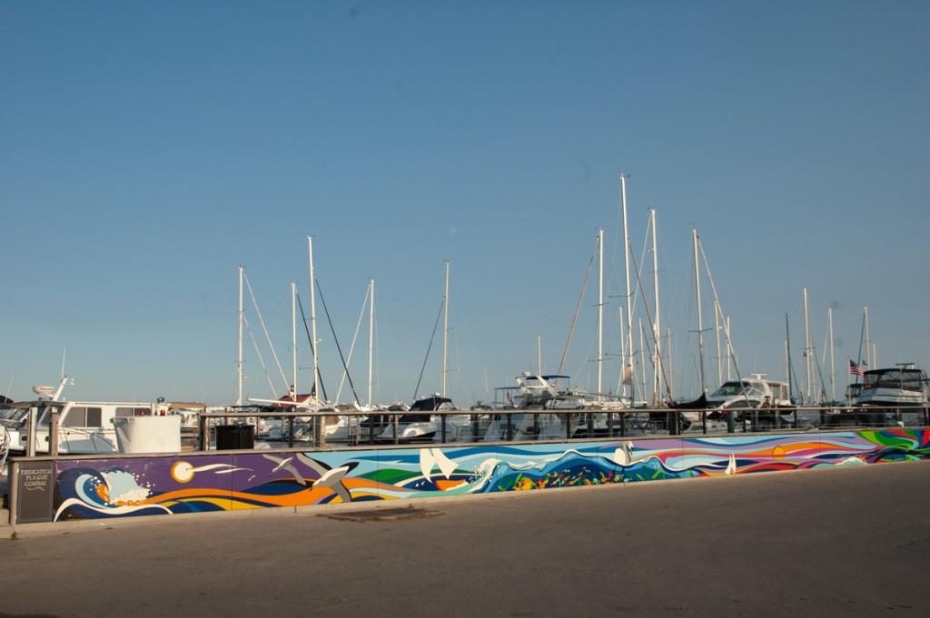 Kat Dakota Bay Presents Mural