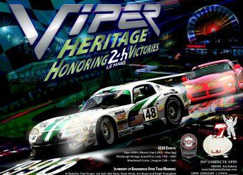 Viper Chrylser Car Le Mans Kat Dakota Design