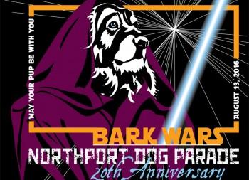 Northport Dog Parade Kat Dakota Designs T-Shirts
